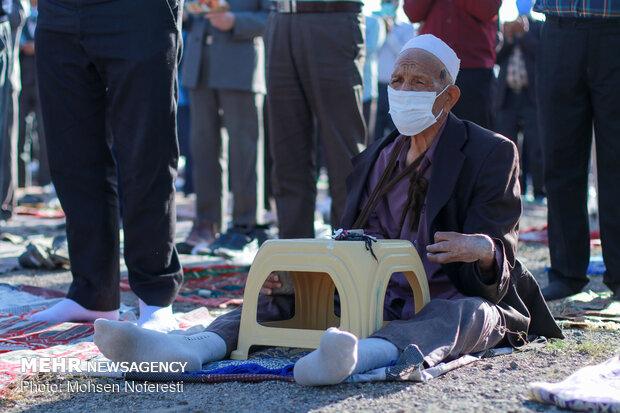 اقامه نماز عید سعید فطر در بیرجند