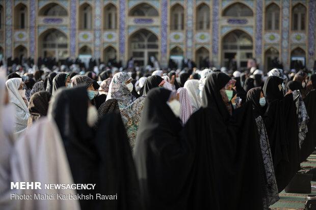2021 Eid al-Fitr prayers in Iran's provinces (3)