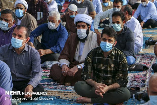 2021 Eid al-Fitr prayers in Iran's provinces (2)