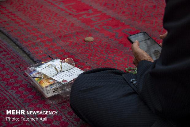 Ramazan Bayramı namazı Tahran'da eda edildi