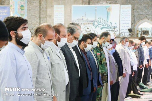 İran'daki Kurban Bayramı namazından görüntüler