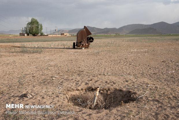 کشاورزی در سفید دشت تعطیل است