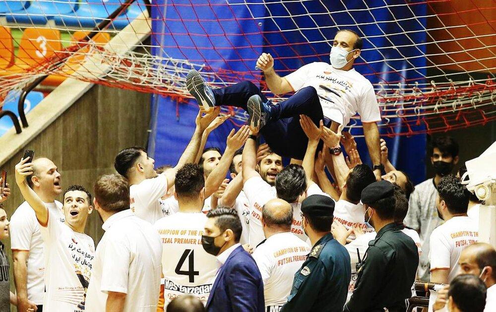 مس سونگون برای چهارمین بار قهرمان لیگ برتر فوتسال ایران شد