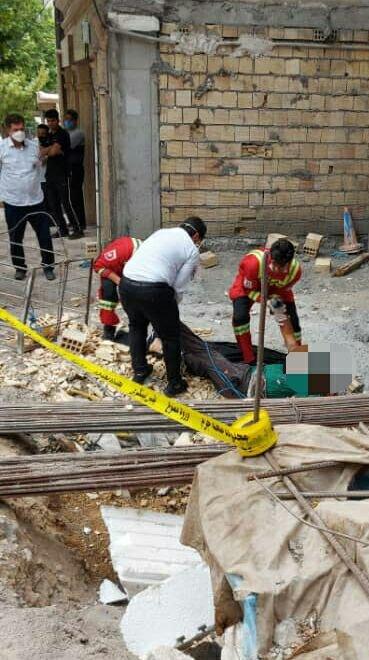 سقوط از ارتفاع جان کارگر جوان خرمآبادی را گرفت