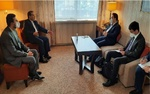 دیدار هیئت مذاکره کننده چین با عراقچی در وین