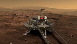 مریخ نورد چینی آماده فرود می شود