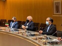 ظریف با وزیر صنعت، تجارت و گردشگری اسپانیا دیدار کرد