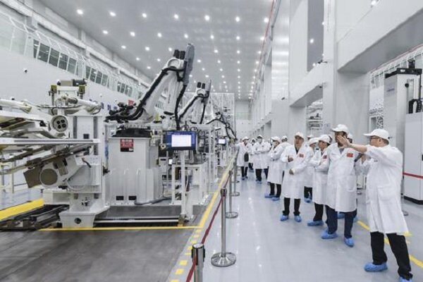 Chinese smart satellite facility begins work in Wuhan