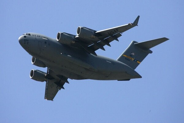 US Air Force plane deliveres secret cargo to Zionists