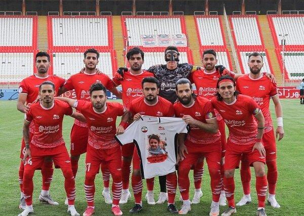 بازیکنان تراکتور با مردم مظلوم غزه ابراز همدردی کردند