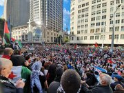 تجمع ۲۰ هزار نفری در حمایت از فلسطین در سیدنی استرالیا