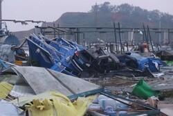گردباد در «ووهان» ۶ کشته و ۲۱۸ زخمی بر جای گذاشت