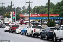 ۱۱ هزار جایگاه سوخت آمریکا همچنان تعطیل هستند/ قیمت بنزین در بالاترین سطح ۷ ساله