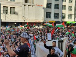 20,000 Australians hold rally in support of Palestine
