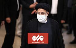 لحظه عزیمت آیت الله  رئیسی برای ثبتنام در انتخابات