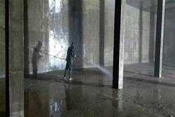 گندزدایی ۳۳ هزار مترمکعب مخزن ذخیره آب شُرب در شهریار