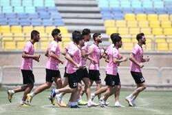 ادامه تمرینات اختصاصی مصدومان پس از برد در جام حذفی