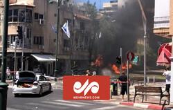 VIDEO: Palestinian resistance missile attack on Tel Aviv