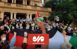 تصاویر اختصاصی مهر از تجمع مردم استرالیا در حمایت از ملت فلسطین