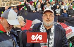 تجمع مردم شهر سیدنی استرالیا در حمایت از مردم فلسطین