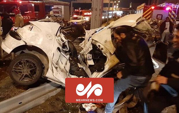 حادثه مرگبار در نیمه شب تهران