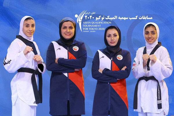 تلاش دختران ایران برای سهمیه المپیک/ مومنزاده و کیانی در اردن