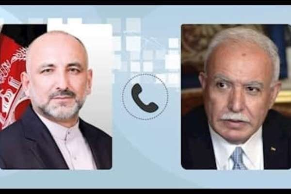 Afghanistan cencures zionists' attacks on Palestinians
