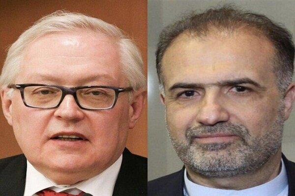 Iran's ambassador, Russian dep. FM confer on JCPOA revival