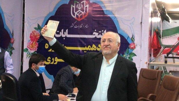 مستقل وارد عرصه انتخابات شدهام