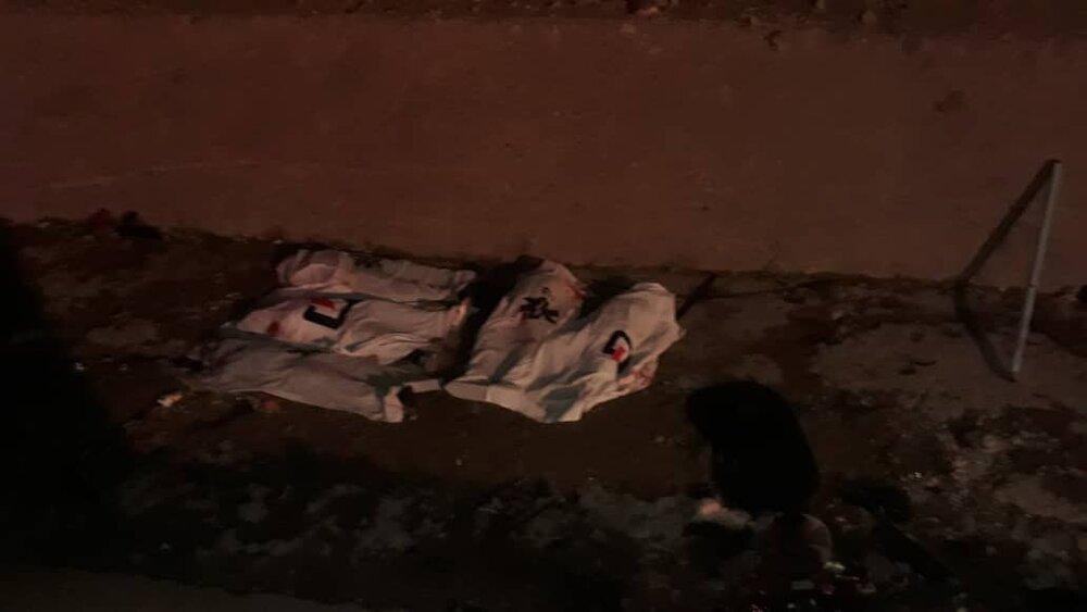 3769983 - واژگونی خودرو در بزرگراه شهید یاسینی/ ۵ نفر جان باختند
