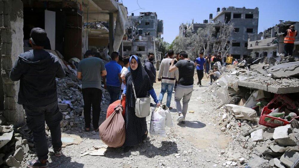 Resistance rocket hits Ashdod, causing terrible fire (+VIDEO)