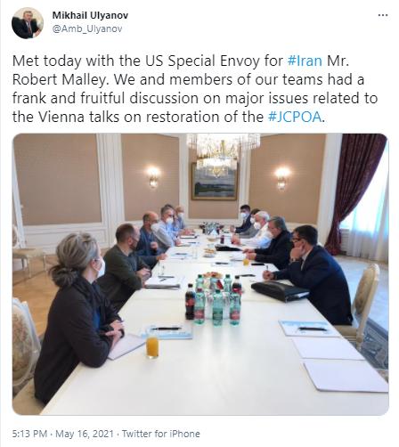 Russia, US envoys discuss restoration of JCPOA