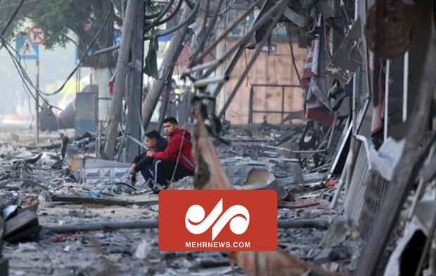 Gazze saldırısında çok sayıda apartman dairesi yıkıldı