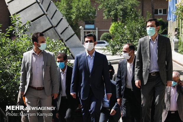 رونمایی از ابررایانه سیمرغ دانشگاه امیرکبیر