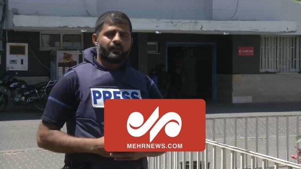 گزارش خبرنگار مهر از چهارمین روز حملات صهیونیستها به غزه _۲