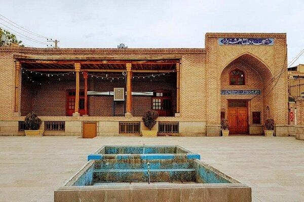 VIDEO: Iranian-Islamic art in Hashtrood Jaame Mosque