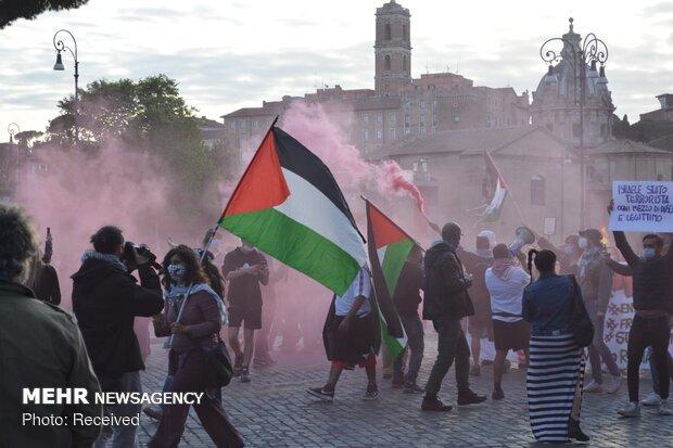 بجنوردیها در حمایت از مردم مظلوم فلسطین تجمع میکنند