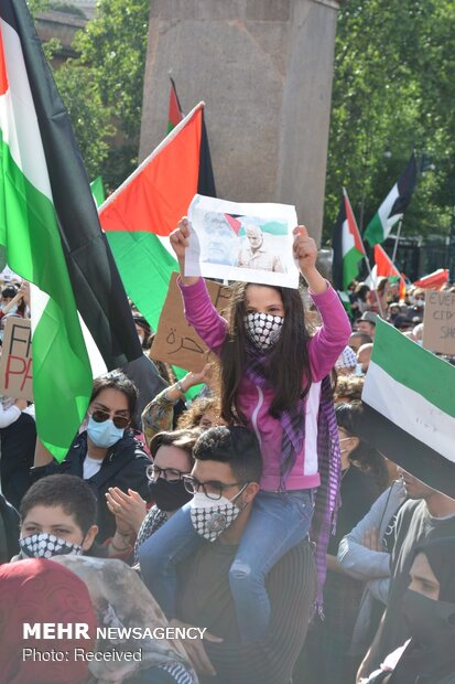 Rallies in support of Palestine in Italy