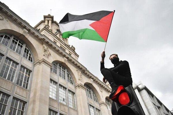 ادامه برگزاری تجمعات حمایت از فلسطین در کشورهای مختلف غربی
