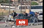 لحظه زیر گرفتن سربازان اسراییلی با خودرو