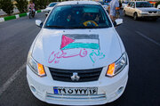 İran'da Filistin'e konvoylu destek