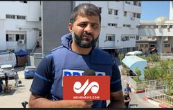 غزہ سے مہر نیوز کے نامہ نگار کی رپورٹ