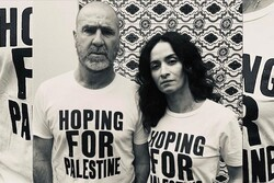 Football legend Cantona voices support for Palestine