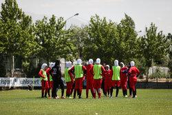 تیم ملی فوتبال بانوان  تهران را به مقصد بلاروس ترک کرد
