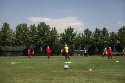 انجام تست کرونا از بازیکنان تیم ملی فوتبال زنان