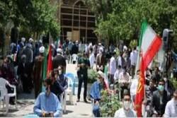 تجمع طلاب و روحانیون تهران در حمایت از مردم مظلوم فلسطین