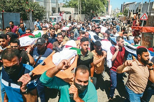 Gazze'de savaş suçu işleniyor