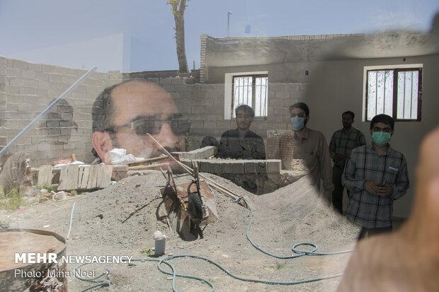 بازدید کاروان رسانه سازمان بسیج سازندگی سپاه عاشورا از پروژه های محرومیت زدایی