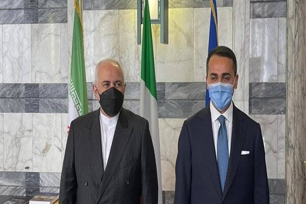 Iran, Italy FMs stress expansion of bilateral cooperation