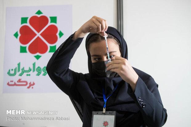 İran'da yerli aşı COVIRAN Bereket'e acil kullanım izni verildi